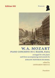 Piano concerto in C major, K503