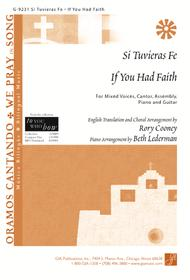 Si Tuvieras Fe / If You Had Faith - Guitar edition