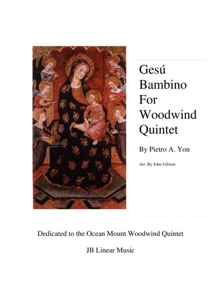 Gesu Bambino (Infant Jesus) for Woodwind Quintet