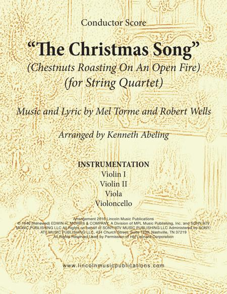 The Christmas Song (Chestnuts Roasting On An Open Fire) (for String Quartet)