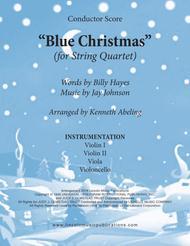 Blue Christmas (for String Quartet)