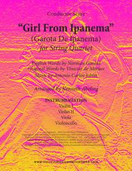 The Girl From Ipanema (Garota De Ipanema) (for String Quartet)
