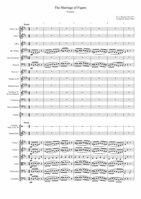 Marriage of Figaro - Overture