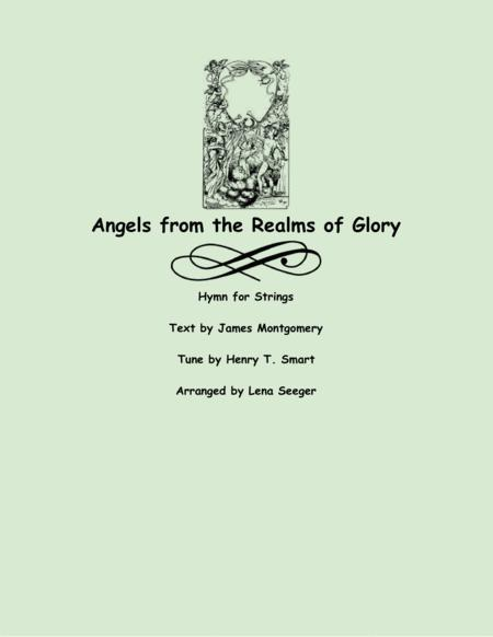 Angels from the Realms of Glory (string trio)