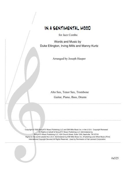 In A Sentimental Mood (Advanced Jazz Combo)