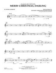 Merry Christmas, Darling - Bb Tenor Saxophone