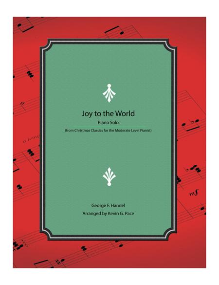 Joy to the World - Moderate level piano solo
