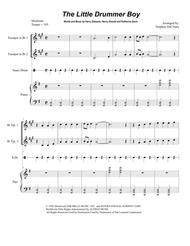 The Little Drummer Boy (for Brass Quartet)