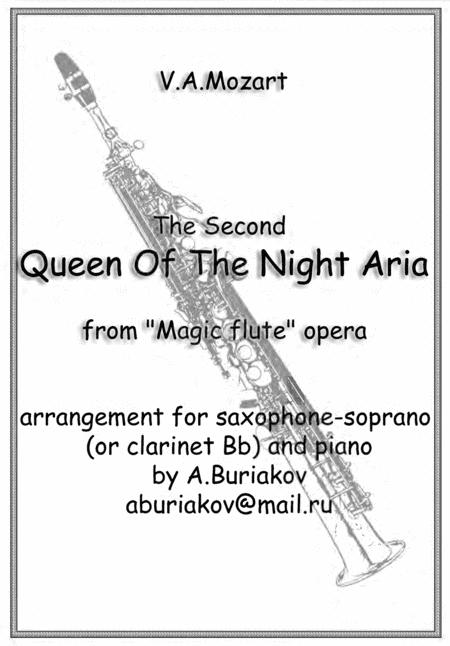 The Second Queen Of The Night Aria (soprano saxophone or clarinet , lower key)
