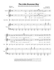 The Little Drummer Boy (Duet for Soprano and Alto Solo)