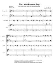 The Little Drummer Boy (Duet for Bb-Trumpet)