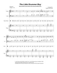The Little Drummer Boy (Duet for Violin and Cello)
