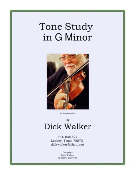Tone Study in g minor