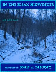 In the Bleak Midwinter (Alto Sax and Piano)