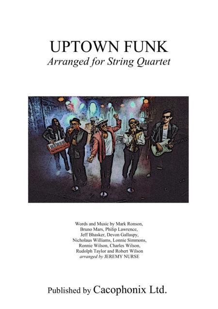 Uptown Funk (String Quartet)