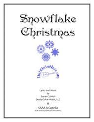 Snowflake Christmas SSAA A Capella