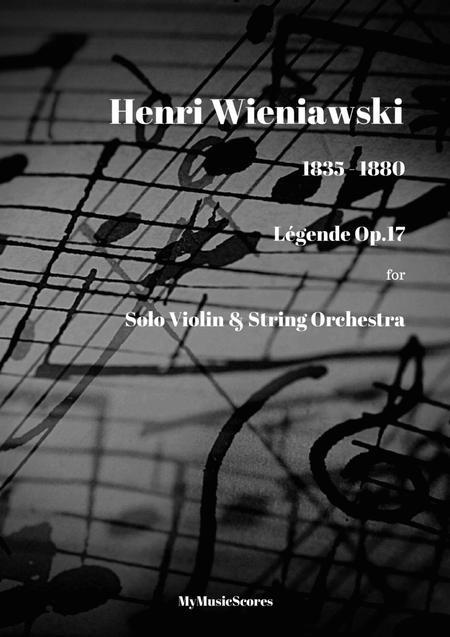 Legende for Violin and String Orchestra Op.17