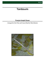 Tambourin (Flute and Concert Band)