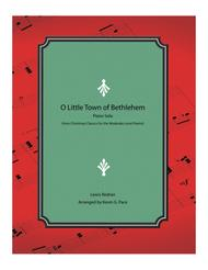 O Little Town of Bethlehem - moderate level piano solo