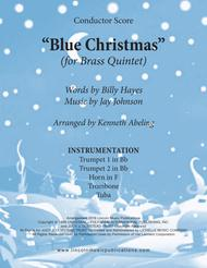 Blue Christmas (for Brass Quintet)
