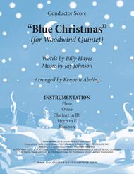 Blue Christmas (for Woodwind Quintet)