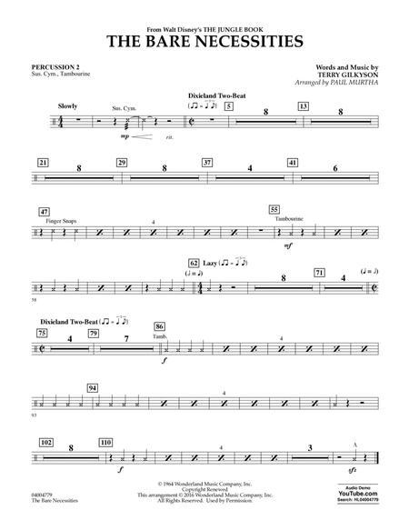 The Bare Necessities - Percussion 2