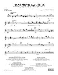 Pixar Movie Favorites - Pt.2 - Eb Alto Saxophone