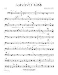 Debut for Strings - Bass