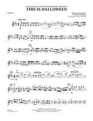 This Is Halloween - Violin 1