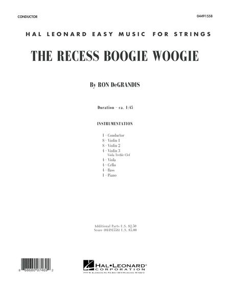 The Recess Boogie Woogie - Conductor Score (Full Score)