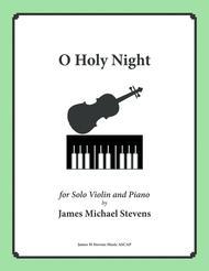 O Holy Night - Solo Violin
