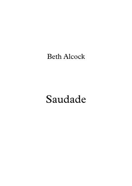 Saudade by Beth Alcock