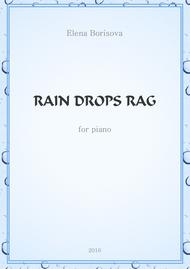 Rain Drops Rag