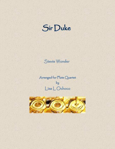 Sir Duke for Flute Quartet