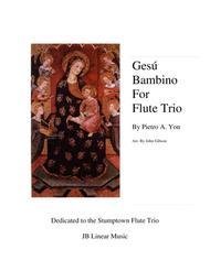 Gesu Bambino for Flute Trio