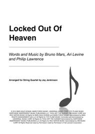 Locked Out Of Heaven for String Quartet