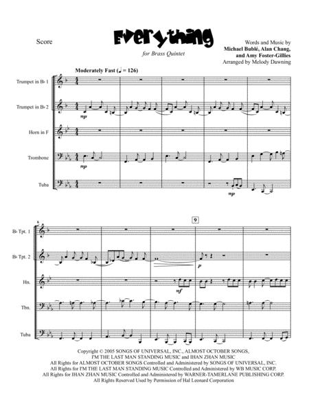 Everything for Brass Quintet