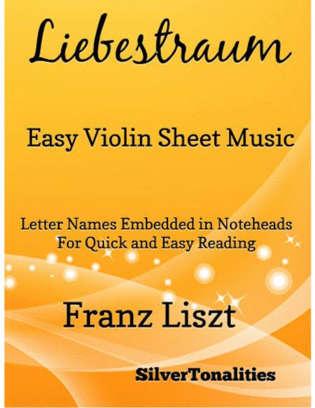Liebestraum Easy Violin Sheet Music