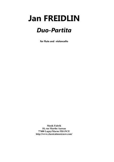 Jan Freidlin: Duo Partita for flute and cello