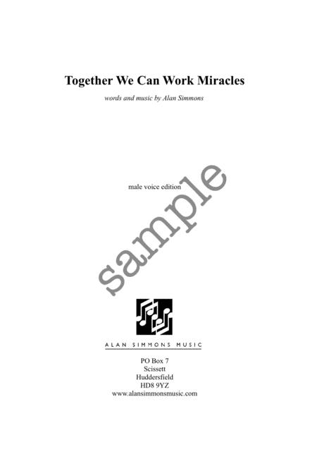 Together We Can Work Miracles
