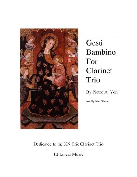 Gesu Bambino (Infant Jesus) for Clarinet Trio