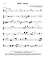 I Gotta Feeling - String Quartet