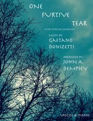 Una Furtiva Lagrima (One Furtive Tear): Violin and Piano