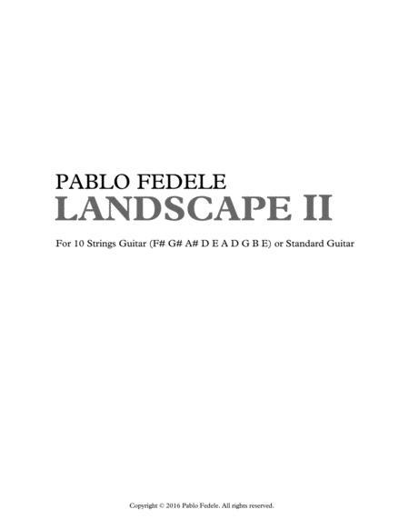 Landscape II (2016)