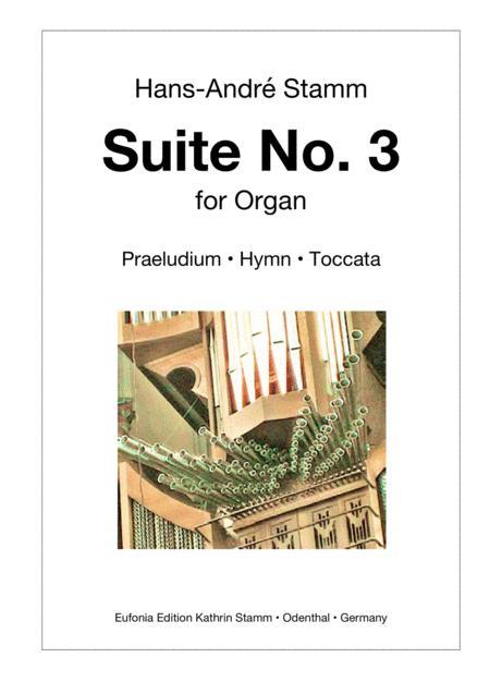 Suite No. 3 for organ