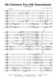 Oh Christmas tree - Oh Tannenbaum - Funky - Saxophone Quintet