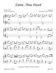 Come, Thou Fount of Every Blessing (Piano Solo)