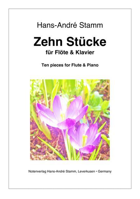 Ten pieces for flute & piano