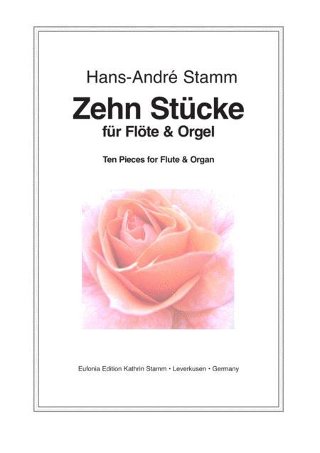 Ten pieces for flute & organ
