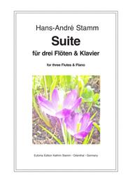 Suite for 3 Flutes & Piano